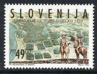 Slovenia 1993 400th Anniversary Of Battle Of Sisak