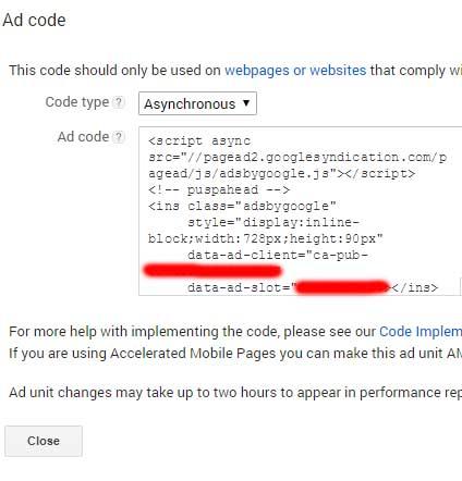 Cara Membuat iklan Google Adsense