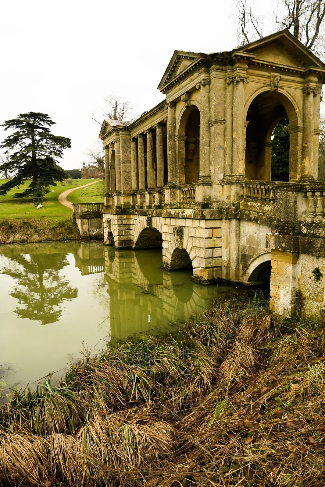 palladian bridge stowe national trust liquidgrain liquid grain