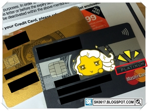 Credit Card Upgraded