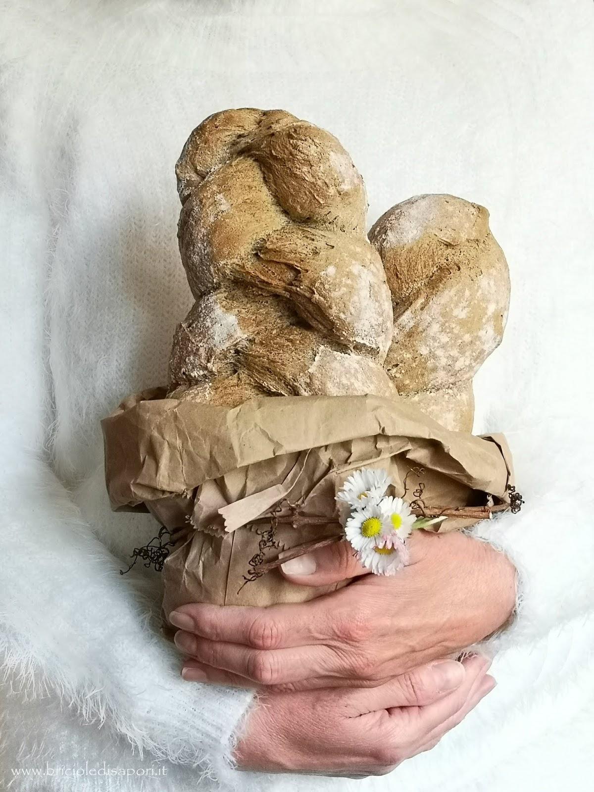 ricetta pane con farina di canapa
