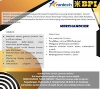 Loker Surabaya di Rantech Group Bentang Persada Internusa Februari 2020