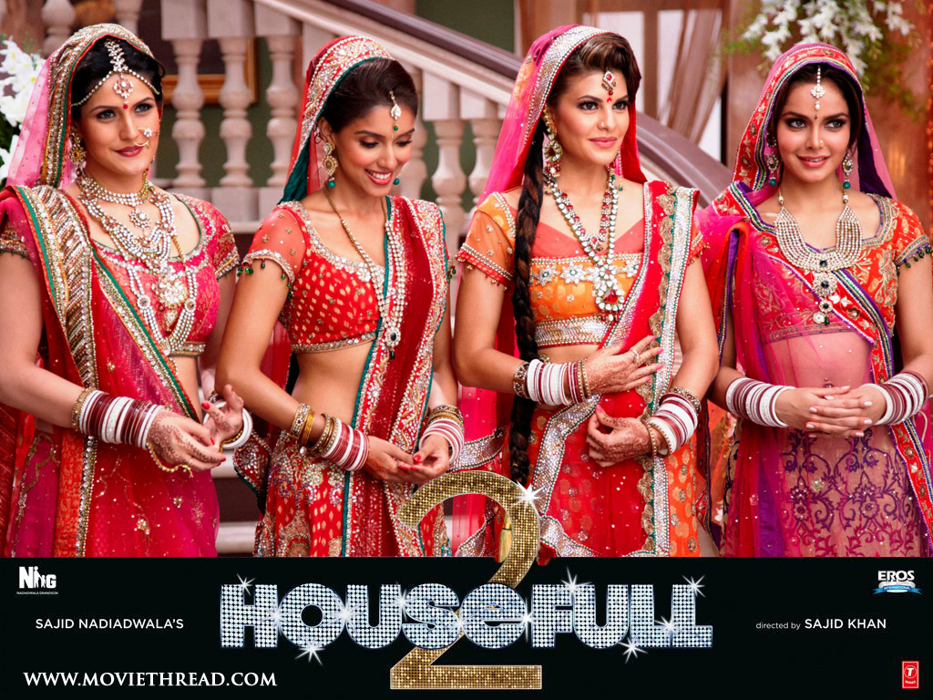 Makkhi 2012 Movie Hd Wallpapers And Review: Top 101 Reviews: Bollywood Movie Housefull 2 Full HD