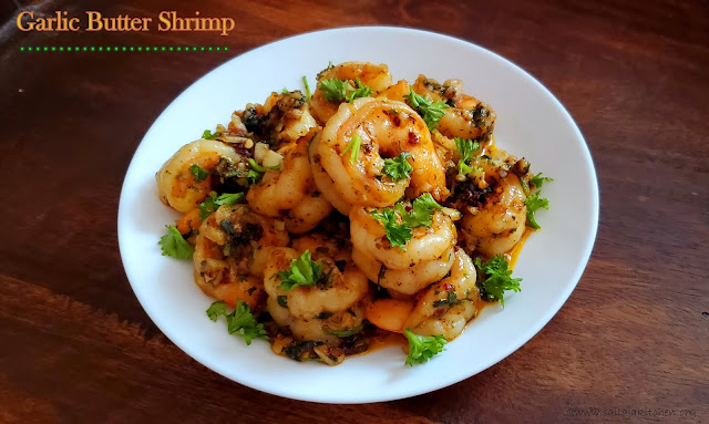 images of Garlic Butter Shrimp / How to Make Garlic Shrimp