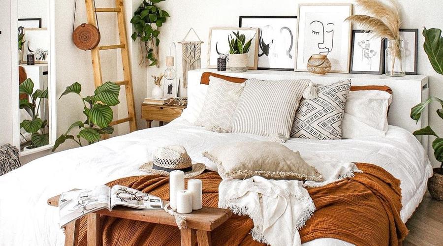 Biel, boho i styl skandynawski, wystrój wnętrz, wnętrza, urządzanie domu, dekoracje wnętrz, aranżacja wnętrz, inspiracje wnętrz, interior design, dom i wnętrze, aranżacja mieszkania, modne wnętrza, home decor, boho, styl skandynawski, scandinavian style, białe wnętrza,