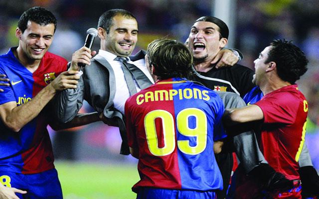 إنتخابات برشلونة 2003 .. العلاقة مع غوارديولا