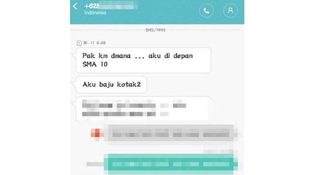 Pelanggan Ojek Online Bilang 'Lagi Pingin' Sang Driver Balas 'Lain Kali Aja', Begini Percakapannya