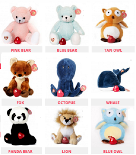 My Baby's Heartbeat Bear choices 2
