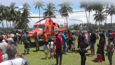 Dibantu Satu Helikopter, Pencarian 11 Nelayan Mentawai Sisir Hingga Selatan Mentawai