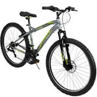 Huffy Mountain Bike Mens 26 Inch Silver 18 Speed Extent