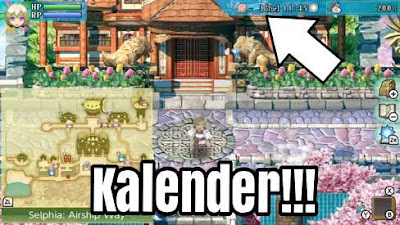 Kalender Rune Factory 4 Special Edition