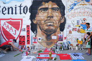 "Argentina And The World Of Football Mourns Their Legend ""Maradona"""