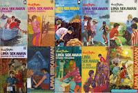 Novel terjemahan yang terus dicetak ulang meskipun penulisnya sudah tiada