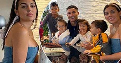 Ronaldo`s partner refers to the footballer as her...