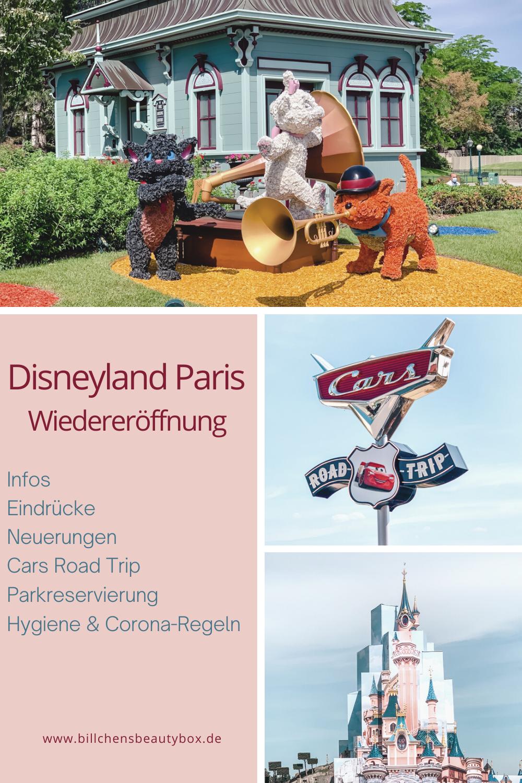 Disneyland Paris Wiedereröffnung Reopening Informationen Regeln