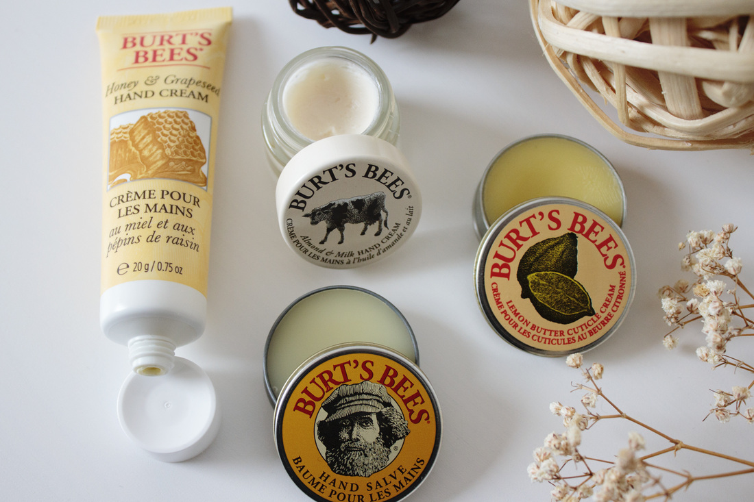 Burt's Bees from hands to toes