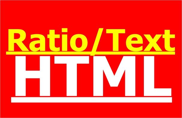 Ratio/text