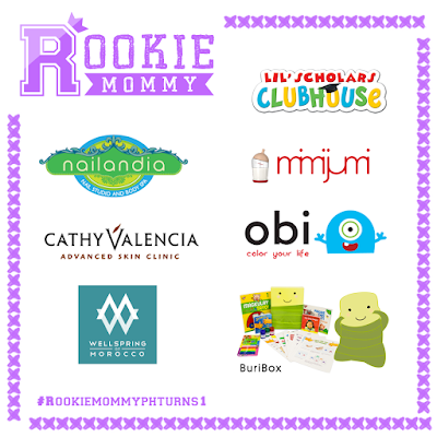 Rookie Mommy PH is giving away lots of surprises on its 1st Year Anniversary!