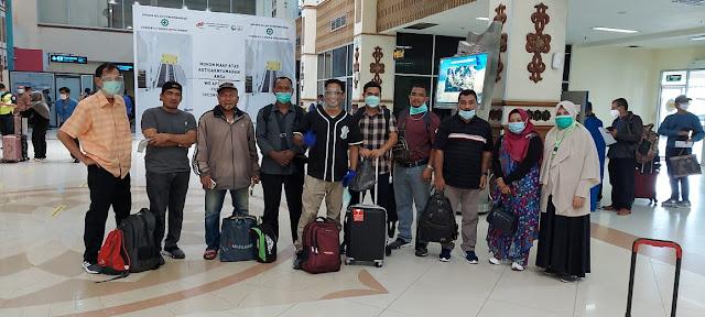 Jalin Silahturahmi, Ketua PELTI Nagan Raya Puji Hartini dan Rombongan Sambangi Kediri
