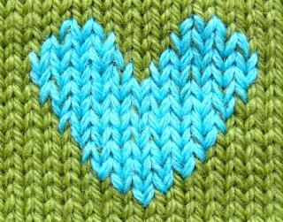Duplicate Stitch Patterns For Knitting : TECHknitting: Duplicate stitching on knitting--basic how-to + tricks for bett...