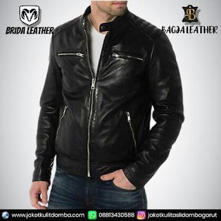 pesan jaket kulit