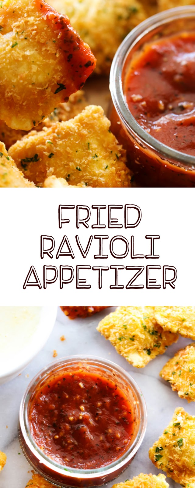 Fried Ravioli Appetizer