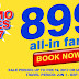 Cebu Pacific 2017 Seat Sale P899 All-In Fare