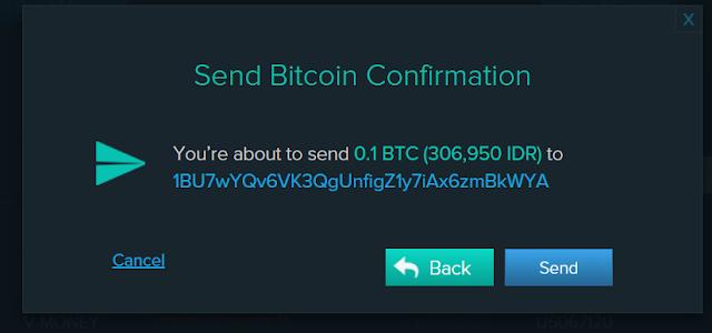 Cara Menerima Bitcoin dari Orang Lain di Triv