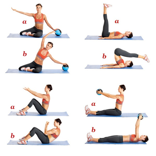 Exercises to have a flat stomach