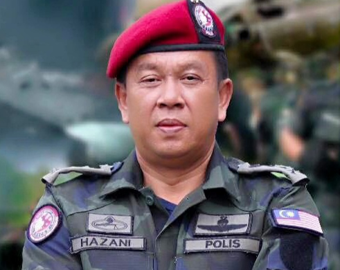 Hazani Ghazali dilantik Pesuruhjaya Polis Sabah baharu