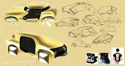 Nissan For Woman Concept Phase II