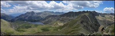 Desde la cima del Montmalus, lago de Montmalus