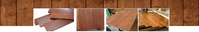 Parket Lantai kayu Jati, Merbau Bengkirai di Jambi untuk hunian elegan