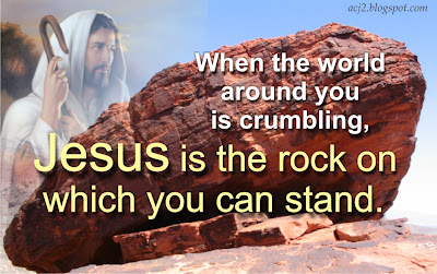 jesus our rock