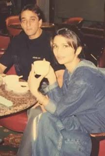 Rhea Pillai With Sanjay Dutt
