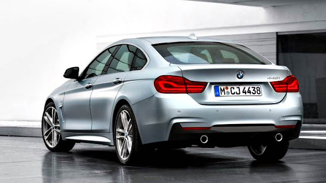 BMW 4-series Gran Coupé 2018 gris