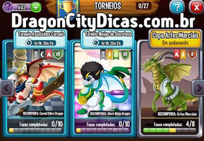 Ganhe o Dragão Cereal Killer - Torneio