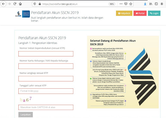 Cara Mudah Mengisi Formulir Pendaftaran Seleksi CPNS 2021 Terbaru