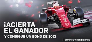 betfair acierta el ganador F1 Baku consigue bono 10 euros 19-23 junio
