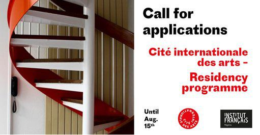 Institut Francais Residency programme 2019 for Artists worldwide at the Cité Internationale des Arts – Funded to France.