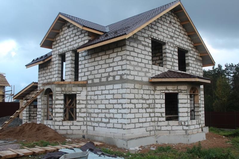 Картинки по запросу Как построить собственный дом с блоков