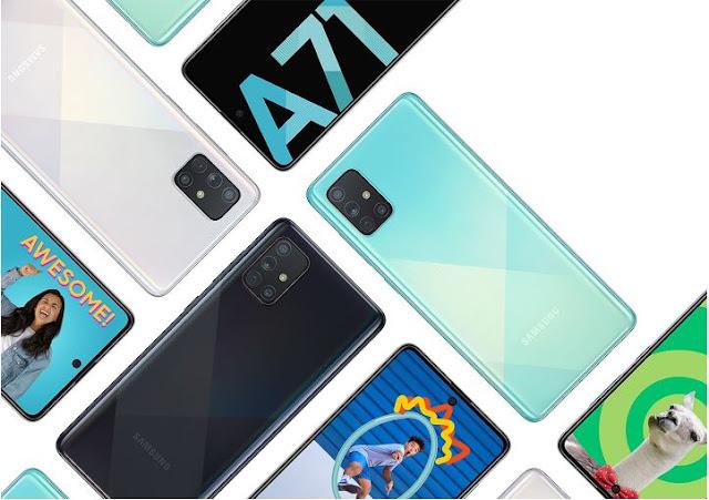 Samsung Galaxy A Series Smart phones Galaxy A51 / Galaxy A71 Good Specifications