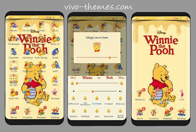 Winnie The Pooh Theme For  Vivo Android Phones