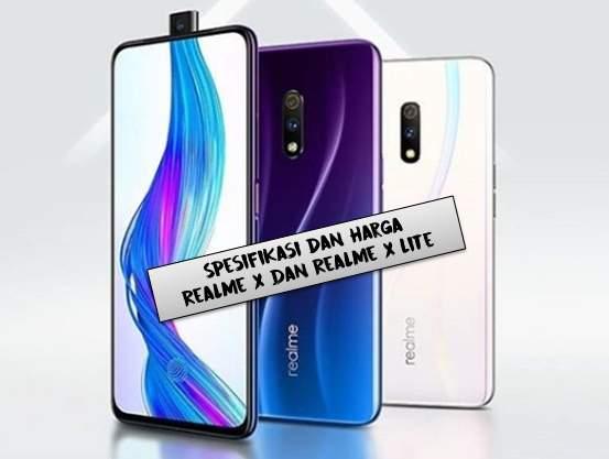 Spesifikasi dan Harga Realme X dan Realme X Lite Indonesia