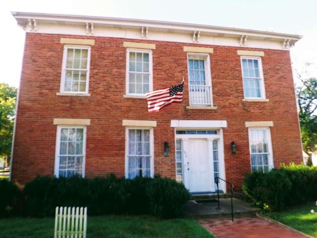 Historic Stevenson House Open Sundays Oct. 13 and 27, Metamora Herald