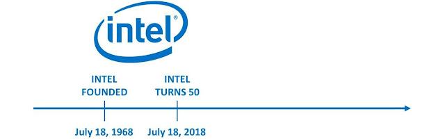 Intel 50 anos