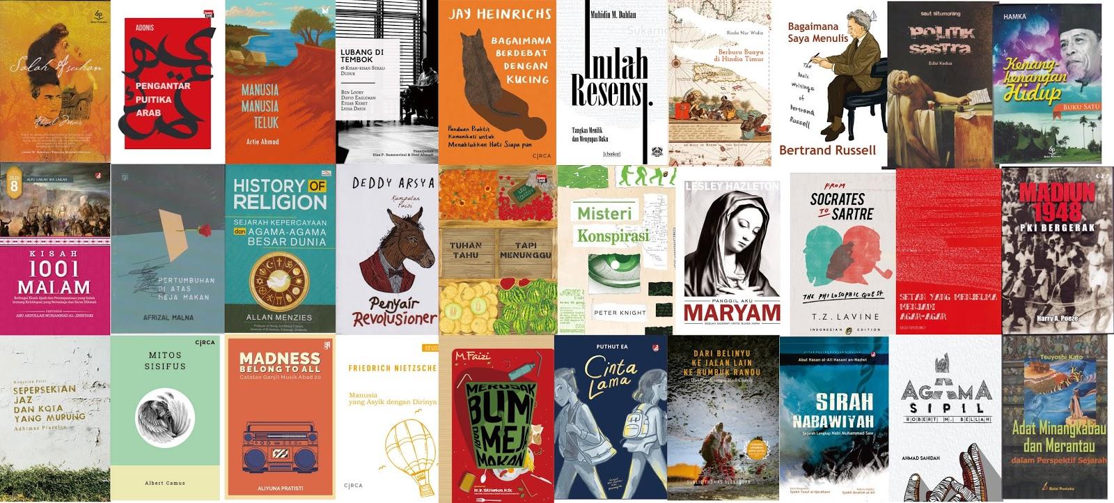 Jualan Buku Sastra Katalog Nonsastra Maret 2020