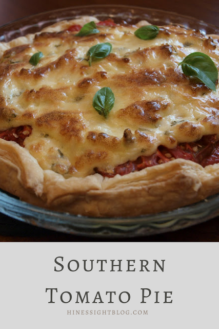 Southern Tomato Pie recipes. Great for when Tomatoes are in abundance in the summer. #sidedishes #mainmeals #tomatoes