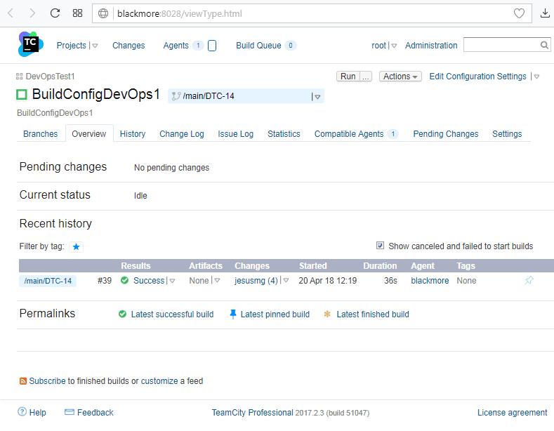 TeamCity - Status