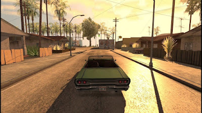 GTA San Andreas Renderhook Graphics Mod